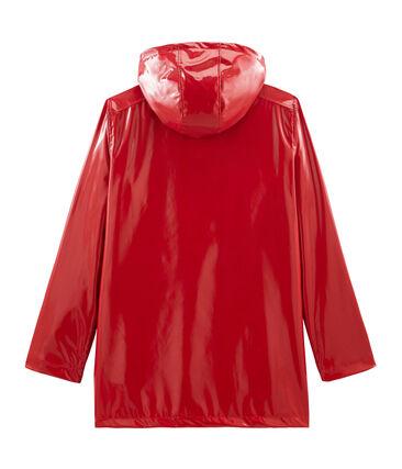 Ciré vernis femme rouge Terkuit