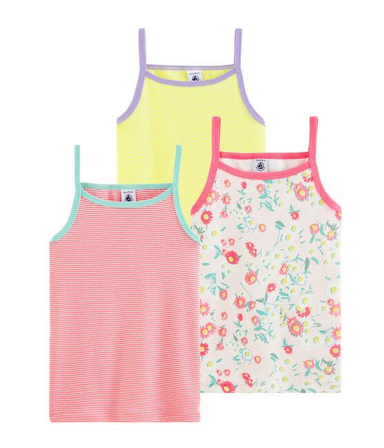 Set meisjehemden met schouderbandjes set .