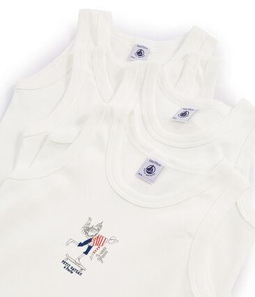 Verrassingstasje met 4 hemdjes voor jongens