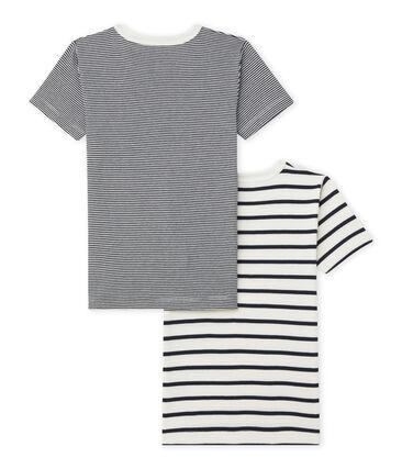 Duo de tee-shirts manches courtes garçon
