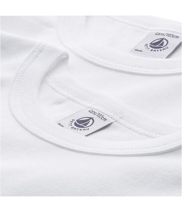 Set van 2 jongens-T-shirts met korte mouwen