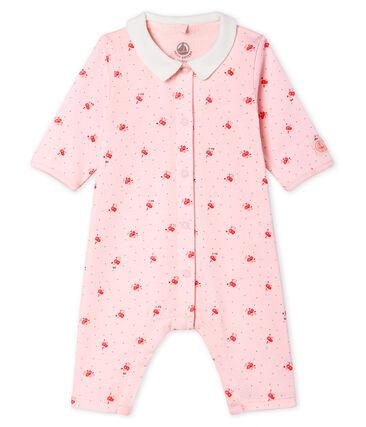 Slaappakje zonder voetjes van ribstof voor baby