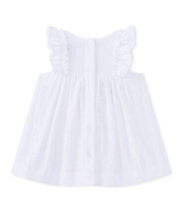 Geborduurd jurkje voor babymeisjes