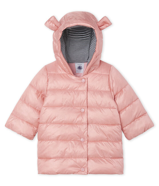 Donsjack van gesatineerde polyamide babymeisje FLEUR