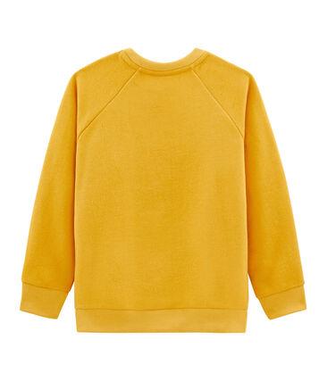 Sweatshirt jongens geel Boudor