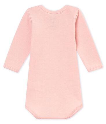 Body met lange mouwen voor babyjongens roze Joli