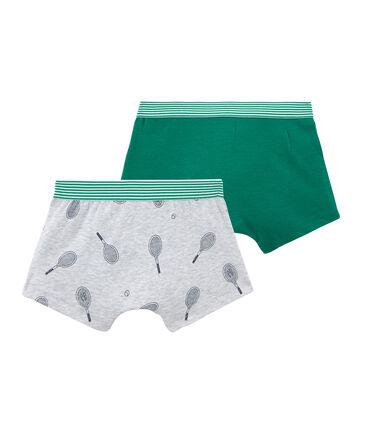 Set van 2 boxershorts voor jongens