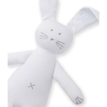 Doudou lapin blanc Ecume