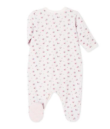 Dors bien bébé fille en tubique imprimé