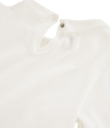 Tee-shirt enfant fille blanc Marshmallow