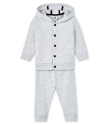 Set Sweatshirt and leggings voor baby grijs Poussiere Chine