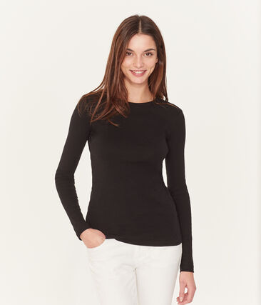 Tee-shirt iconique manches longues femme