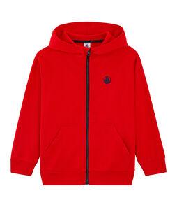 Sweatshirt jongens rood Peps