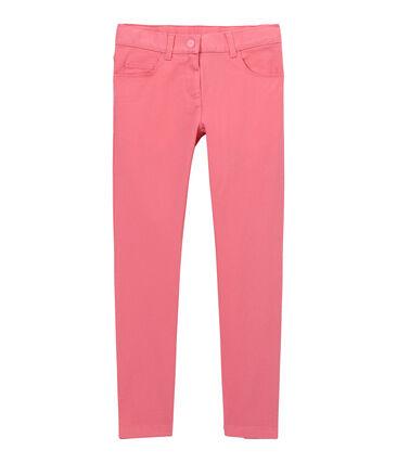 Gekleurde meisjesjeans roze Petal