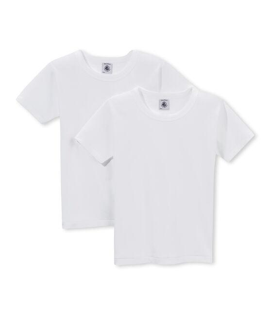 Set van 2 T-shirts met korte mouwen jongens set .