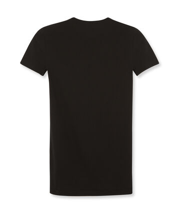 Iconisch T-shirt met korte mouwen voor vrouwen zwart Noir