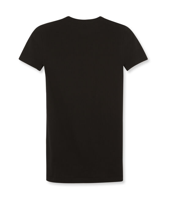 Tee shirt femme iconique en manches courtes noir Noir