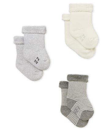 Set met drie paar uniseks babysokken
