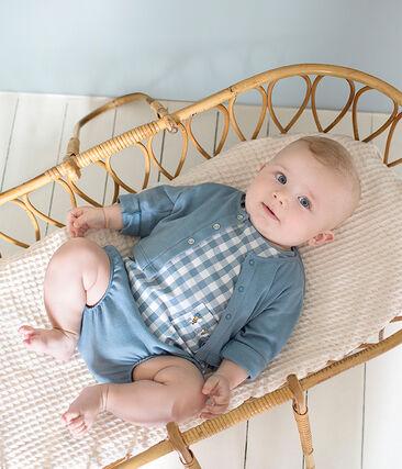 Ensemble met 3 delen met ruitjes voor babyjongens