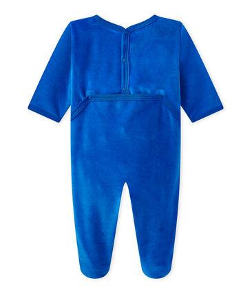 Fluwelen pyjama voor babyjongens