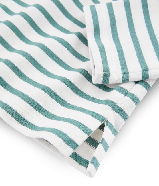 Dames marinetrui wit Marshmallow / blauw Brut