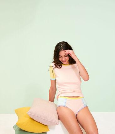Tee shirt iconique femme blanc Multico