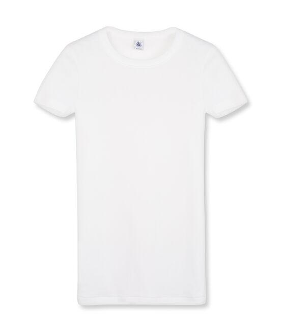 Iconisch T-shirt met korte mouwen voor vrouwen wit Ecume