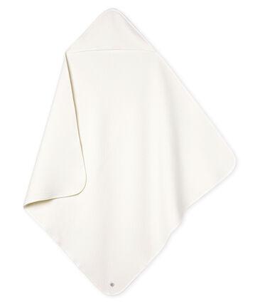Couverture bébé en tubique blanc Marshmallow