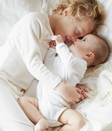 Twee rompertjes met lange mouwen baby