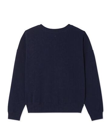 Damessweater in stretchkatoen