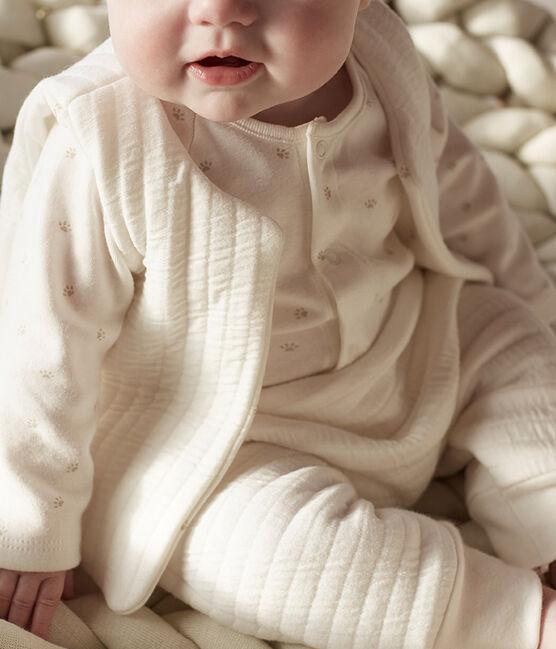 Drie babykledingstukken van tubic wit Marshmallow