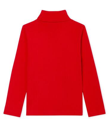 Sous-pull enfant mixte rouge Terkuit