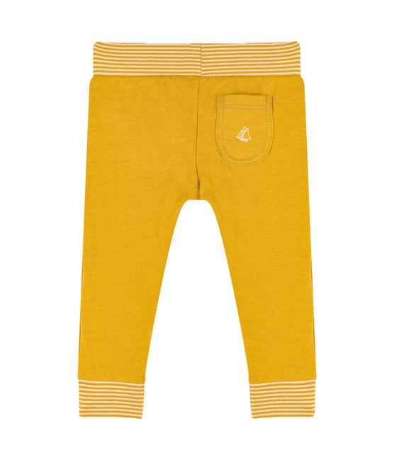 Broek van tubic baby geel Boudor