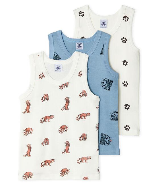 Set van drie hemdjes voor jongens set .