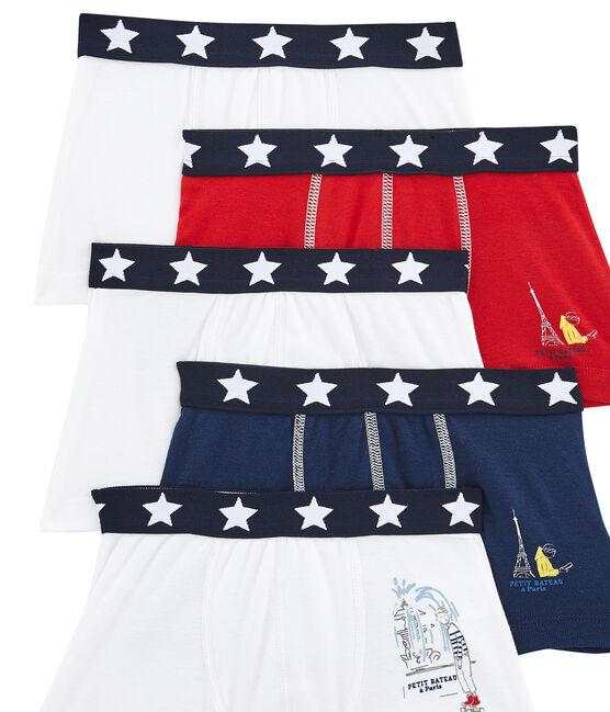 Set van 5 boxershorts voor jongens set .
