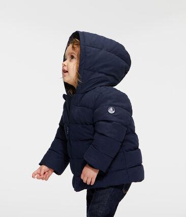Doudoune bébé garçon en microfibre bleu Smoking