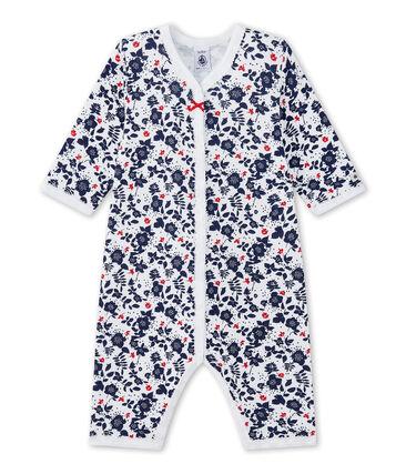 Pyjama zonder voetjes in tubic met dessin voor babymeisjes