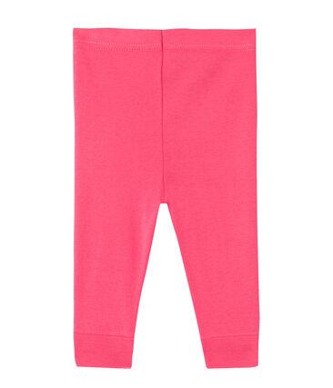 Legging voor babymeisjes roze Peony