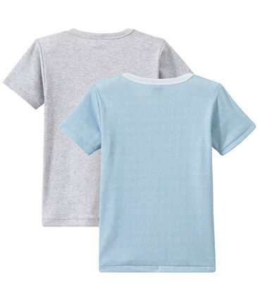 Lot de 2 t-shirts garçon manches courtes