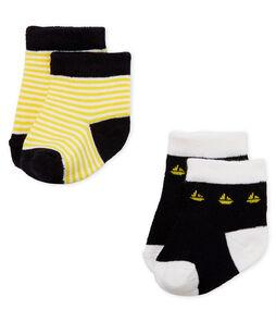 Lot de 2 paires de chaussettes bébé garçon