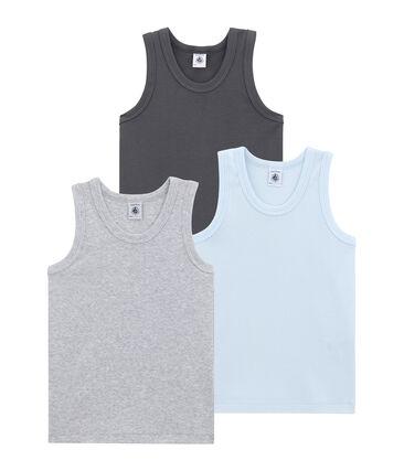 Set van 3 jongenshemdjes