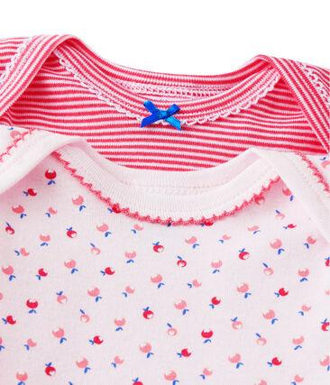 Set van twee body's voor babymeisjes