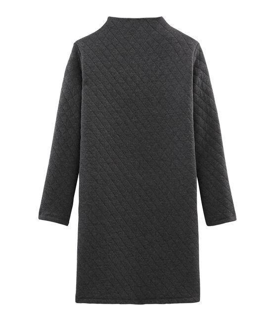 Tubic jurk met lange mouwen vrouwen grijs City Chine
