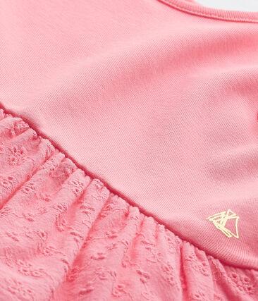 Jurk met vlindermouwen voor babymeisjes