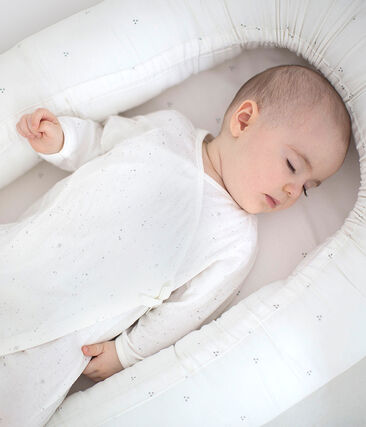 Uniseks pyjama wit Marshmallow / wit Multico