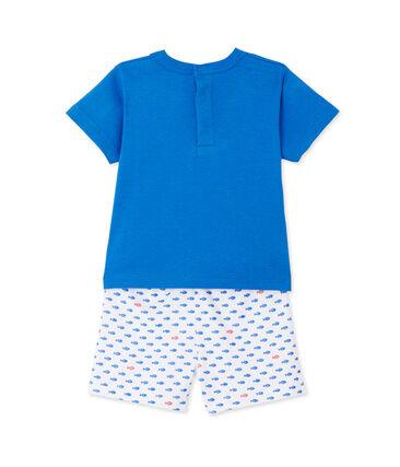 Korte pyjama met print voor babyjongens