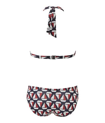 Bikini en slip met print