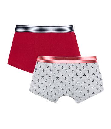 Set van 2 boxershorts voor jongens set .