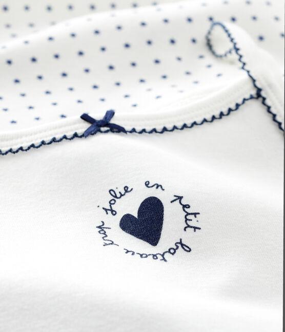Set van 2 meisjeshemden met schouderbandjes met sterren set .