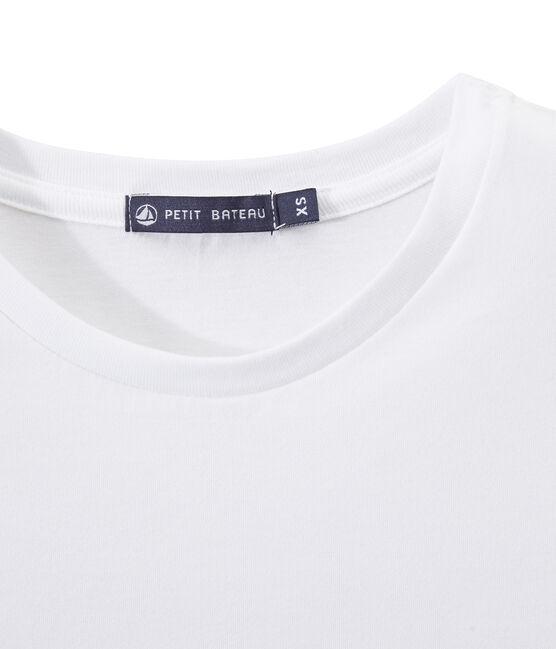 Dames-T-shirt ONMISBAAR uit fijne jersey wit Ecume